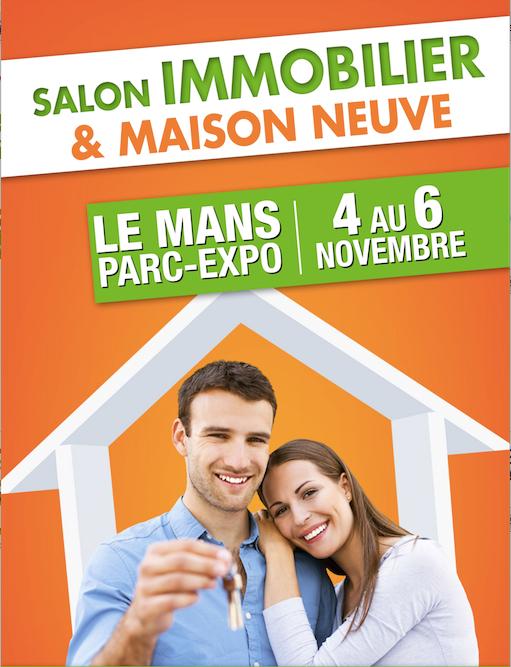 Salon immobilier parc des expositions du mans 72 for Salon immobilier