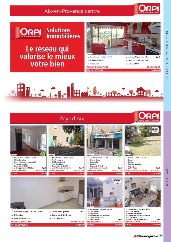 Orpi Provence Automne Magazine Immo