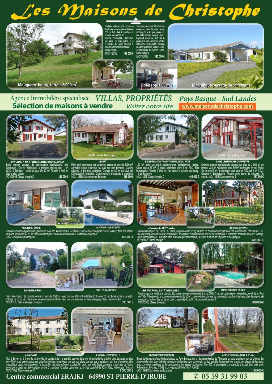Basque Immobilier Annonces Immobilières Pays Basque 64 Landes 40