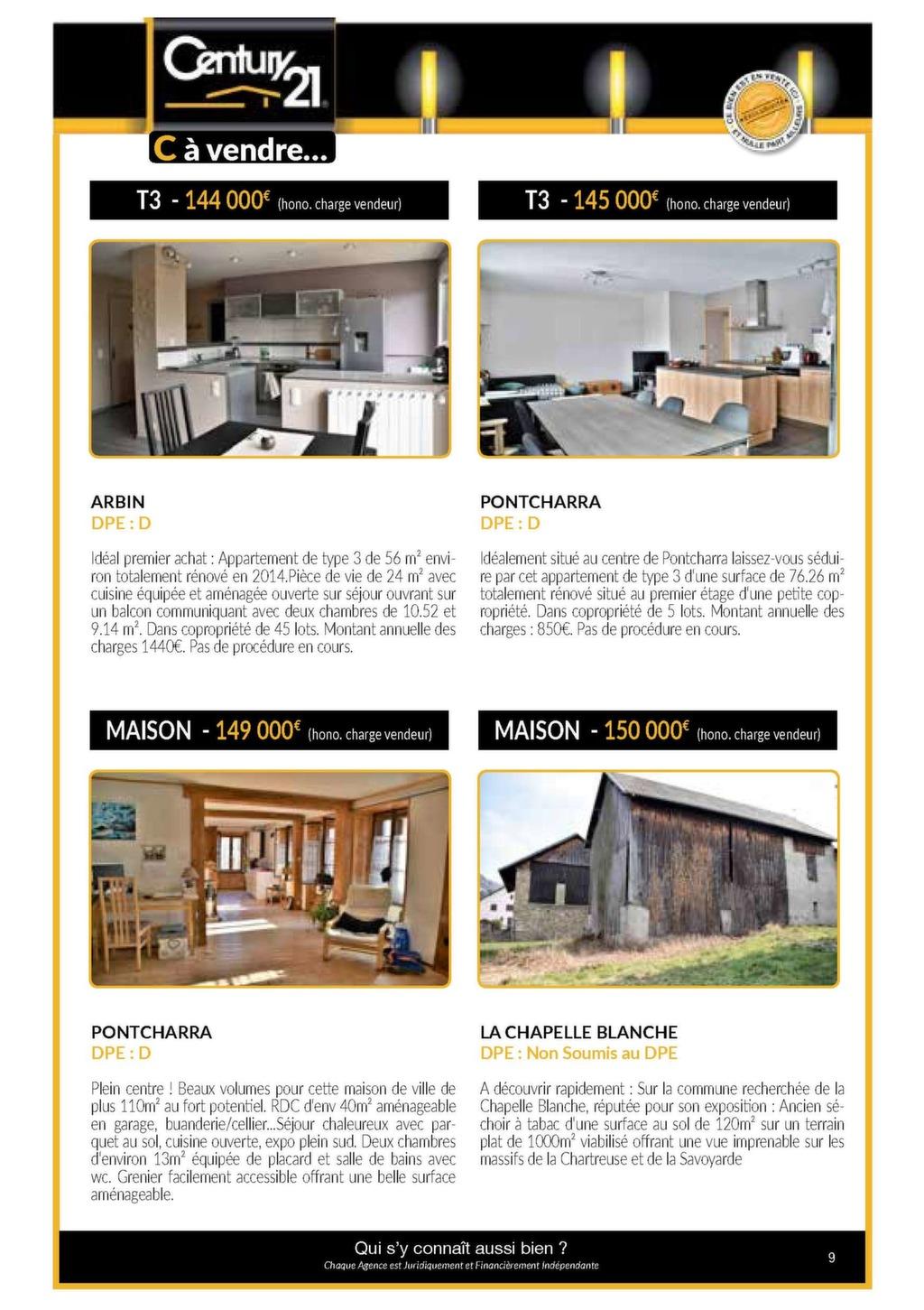 Century 21 Pontcharra Printemps Magazine Immo