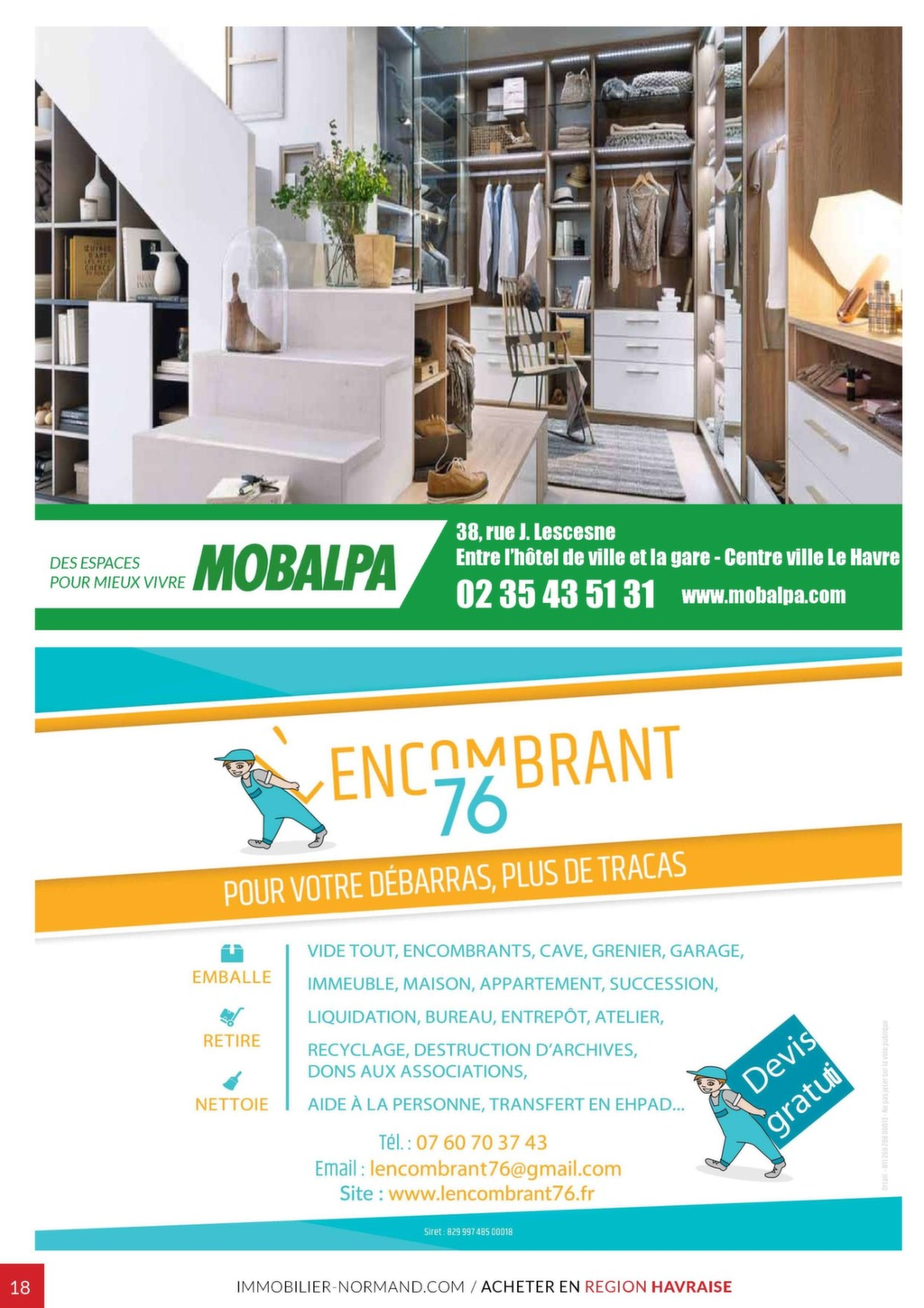 Mobalpa Le Havre en ce qui concerne immobilier normand n°44 - magazine immo