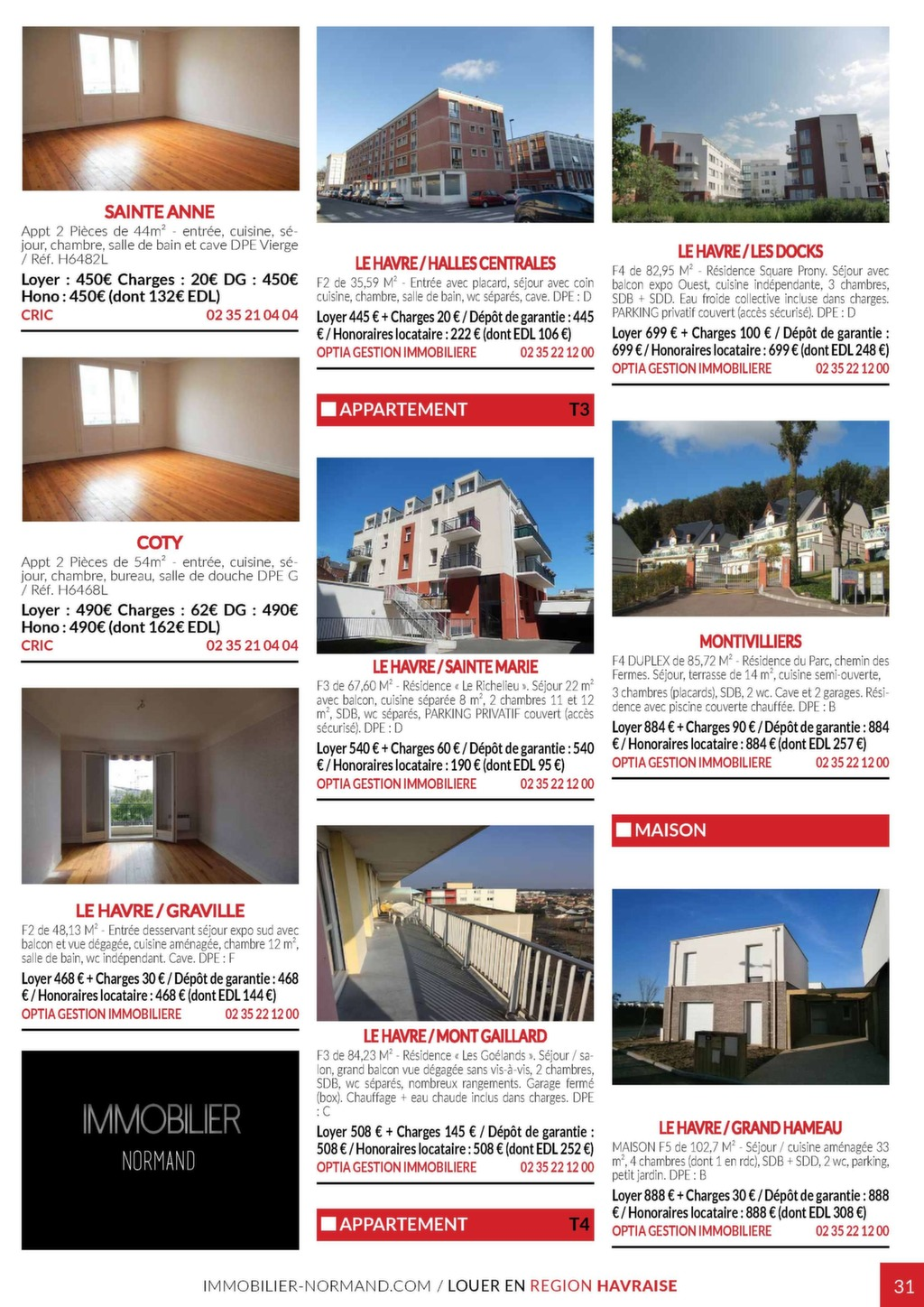 Immobilier Normand N50 Magazine Immo