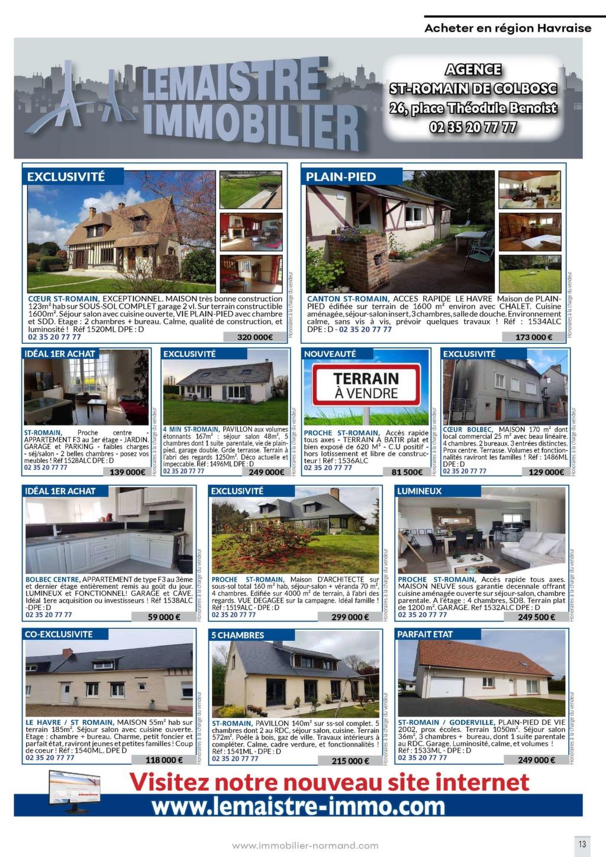 Maison Avec Travaux 77 immobilier normand n°57 - magazine immo