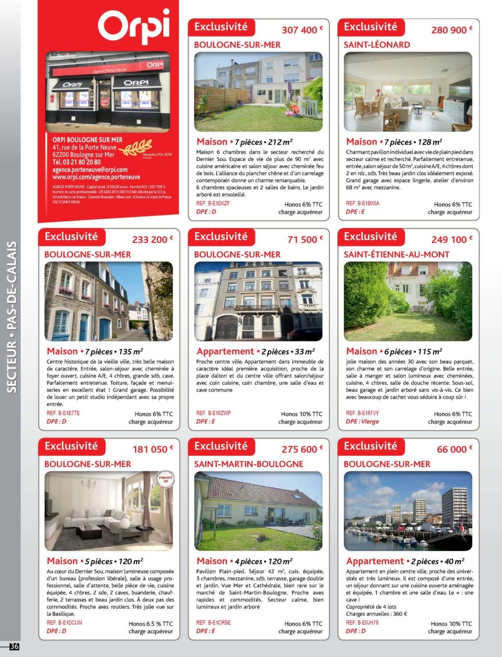 Orpi Nord Pas De Calais Magazine Immo