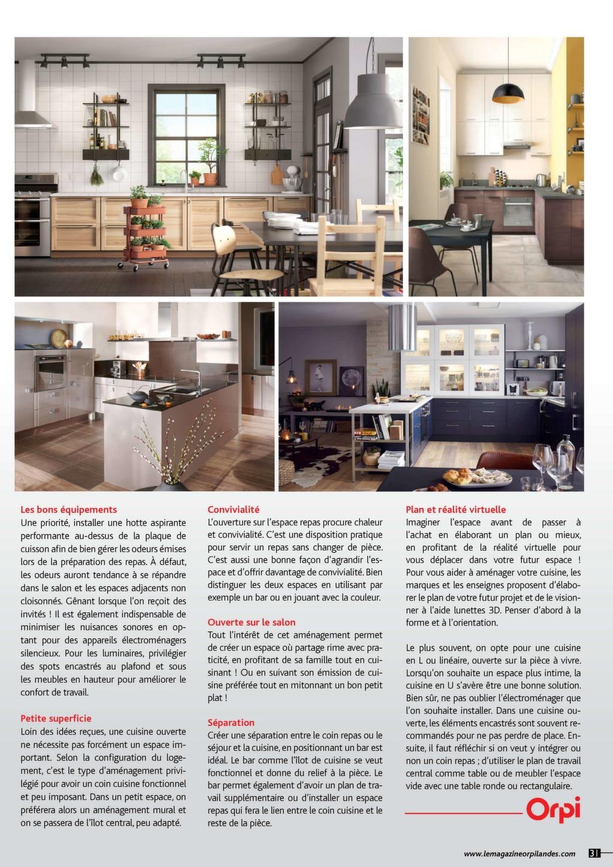 Amenager Petite Cuisine Avec Bar www.lemagazineorpilandes